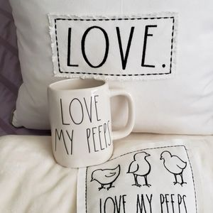 Rae Dunn LOVE MY PEEPS BUNDLE